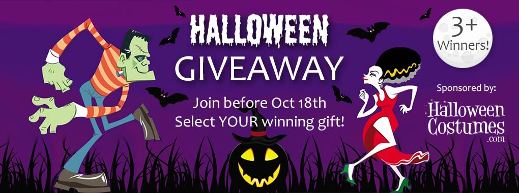 Halloween Trick or Treat Giveaway