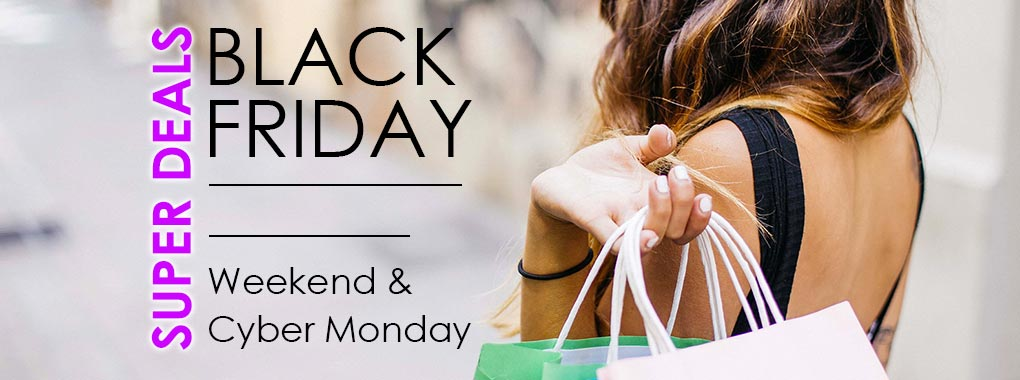 Black Friday Weekend and Cyber Monday Deals