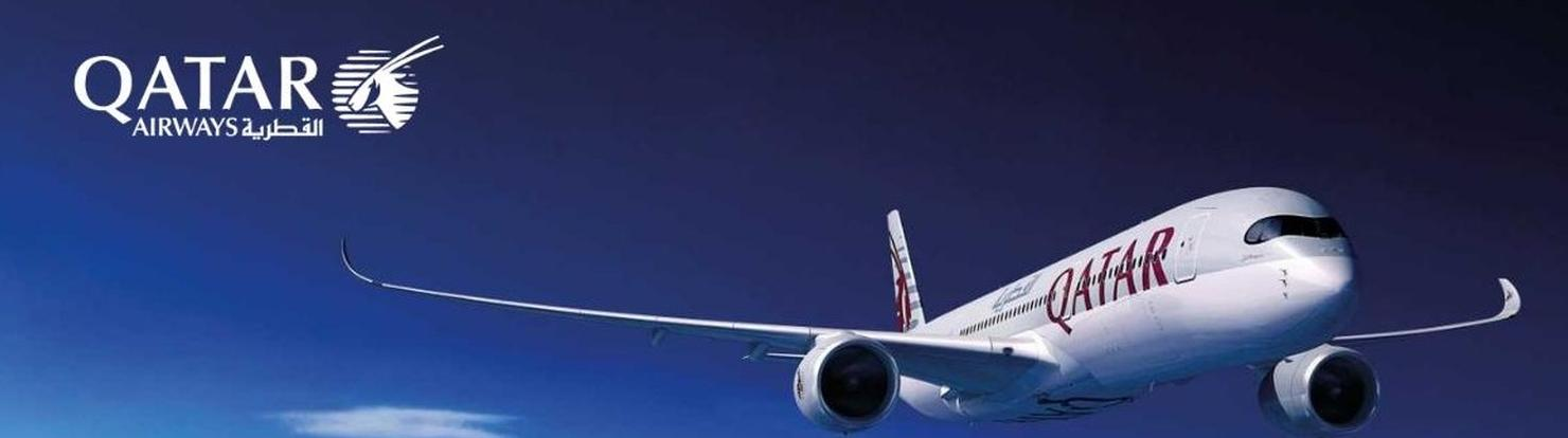 Qatar Airways our Airline Partner...